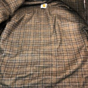 27256faee Carhartt Men M Coat Gray Tractor Supply Wool Lined